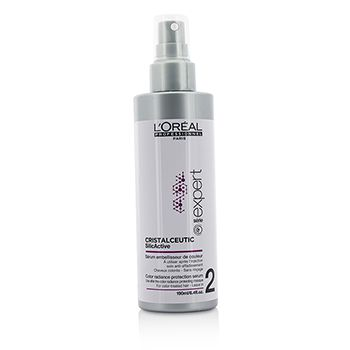 L'Oreal Professionnel Expert Serie - Cristalceutic SilicActive Color Radiance Protection Serum - Leave In (For Color-Treated Hair)