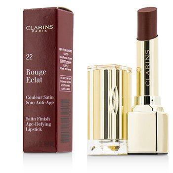 Clarins Rouge Eclat Satin Finish Age Defying Lipstick - # 22 Red Paprika