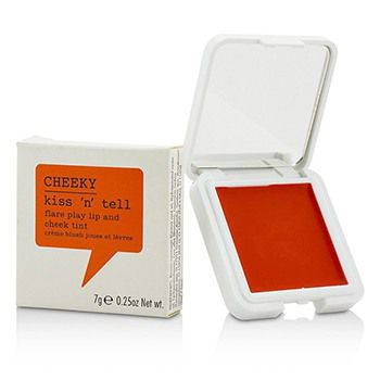 Cheeky Kiss N Tell Lip And Cheek Tint - Flare Play