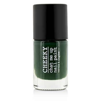 Cheeky Chat Me Up Nail Paint - Moss-Behaving