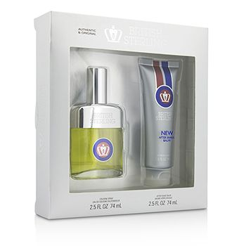 Dana British Sterling Coffret: Cologne Spray 74ml/2.5oz + After Shave Balm 74ml/2.5oz