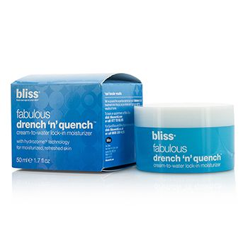 Bliss Fabulous Drench N Quench Cream-To-Water Lock-In Moisturizer