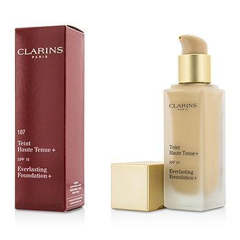 Clarins Everlasting Foundation+ SPF15 - # 107 Beige