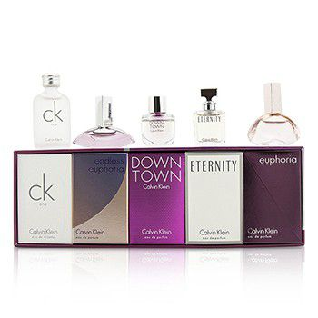 Calvin Klein Miniature Coffret: CK One + Downtown + Eternity + Euphoria + Endless Euphoria