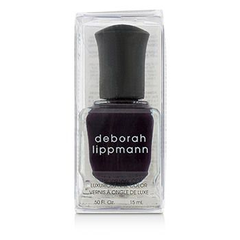 Deborah Lippmann Luxurious Nail Color - Dark Side Of The Moon (Absolutely Aubergine Creme)
