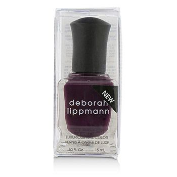 Deborah Lippmann Luxurious Nail Color - Miss Independent (Full Coverage Berry Wine Creme)