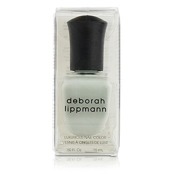 Deborah Lippmann Luxurious Nail Color - Misty Morning (Sheer Blue Grey Creme)