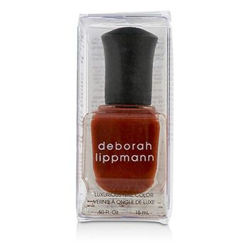 Deborah Lippmann Luxurious Nail Color - Respect (Full Coverage Brick Red Creme)