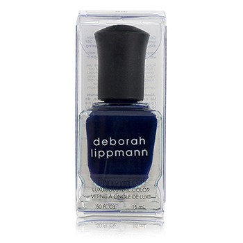 Deborah Lippmann Luxurious Nail Color - Rolling In The Deep (Mysterious Midnight Blue Creme)