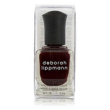 Deborah Lippmann Luxurious Nail Color - Single Ladies (Flirtatious Red Creme)