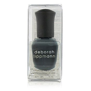 Deborah Lippmann Luxurious Nail Color - Stormy Weather (Edgy Granite Creme)