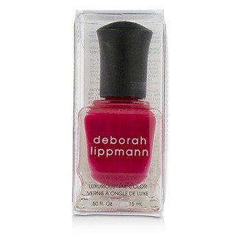 Deborah Lippmann Luxurious Nail Color - The Heat Is On (Scalding Scarlett Creme)