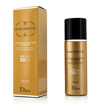 Christian Dior Dior Bronze Beautifying Protective Milky Mist Sublime Glow SPF 30 For Face & Body