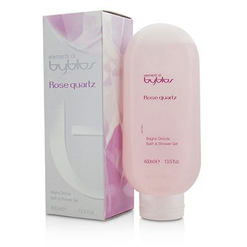 Byblos Rose Quartz Bath & Shower Gel