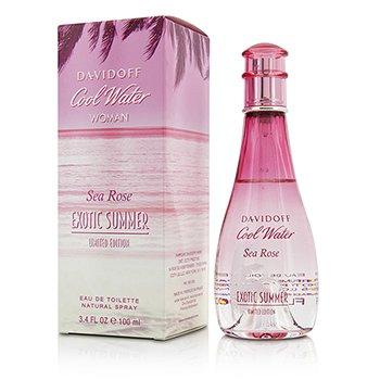Davidoff Cool Water Sea Rose Exotic Summer Eau De Toilette Spray (Limited Edition)