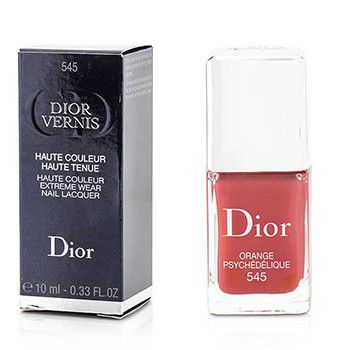 Christian Dior Dior Vernis Haute Couleur Extreme Wear Nail Lacquer - # 545 Psychedelic Orange