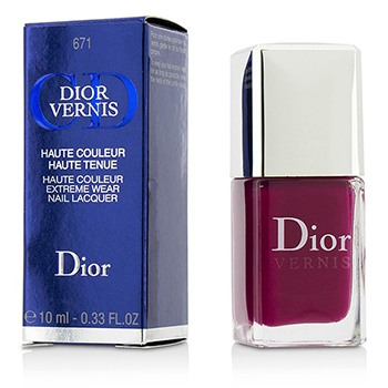 Christian Dior Dior Vernis Haute Couleur Extreme Wear Nail Lacquer - # 671 Graphic Berry