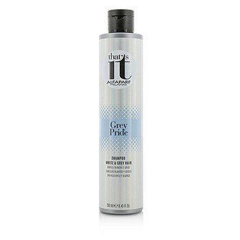 AlfaParf That's It Grey Pride Shampoo (For White & Grey Hair)