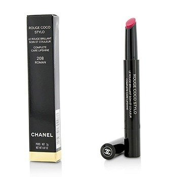 Chanel Rouge Coco Stylo Complete Care Lipshine - # 208 Roman
