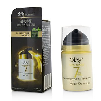 Olay Total Effects 7 in 1 Fragrance Free UV Protection Treatment SPF15