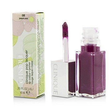 Clinique Pop Lacquer Lip Colour + Primer  - # 08 Peace Pop