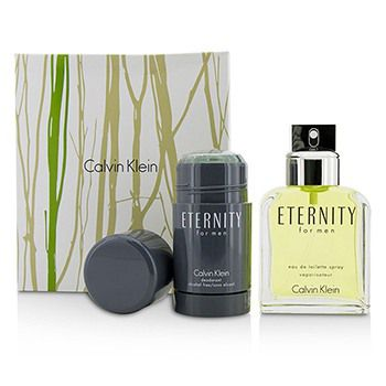 Calvin Klein Eternity Coffret: Eau De Toilette Spray 100ml/3.4oz + Deodorant Stick 75g/2.6oz