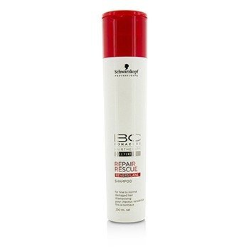 Schwarzkopf BC Repair Rescue Reversilane Shampoo (For Fine to Normal Damaged Hair)
