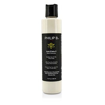 Philip B Anti-Flake II Relief Shampoo - Soothes Dry or Oily, Flaky Scalp (Exp. Date: 04/2017)