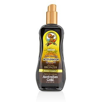 Australian Gold Dark Tanning Accelerator Spray Gel With Instant Bronzer