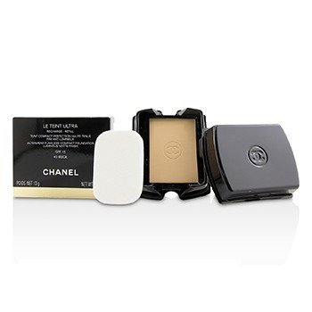 Chanel Le Teint Ultra Ultrawear Flawless Compact Foundation Luminous Matte Finish SPF15 Refill - # 40 Beige