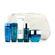 Lancome Visionnaire Set: Polishing Cream + Emulsion + Lotion + Make Up Remover +  Skin Corrector + Bag