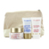 Clarins Vital Light Set (All Skin Types): Day Cream 50ml + Night Cream 15ml + Gentle Refiner 15ml + Bag