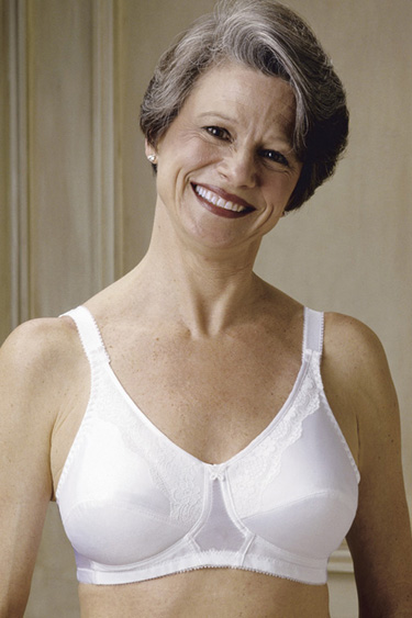 Bra in mature woman