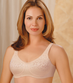 Trulife (Camp) Seamless Floral Knit Softcup Bra