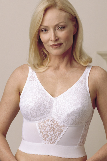 Trulife (Camp) Lace Long-Line Softcup Bra