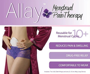 Actipatch Allay Menstrual Pain Swelling, Bruising & Scarring Recovery Kit