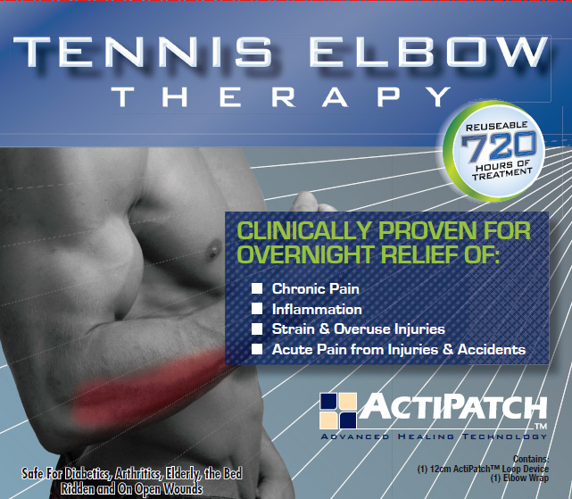 Actipatch Tennis Elbow Swelling, Bruising & Scarring Therapy Kit