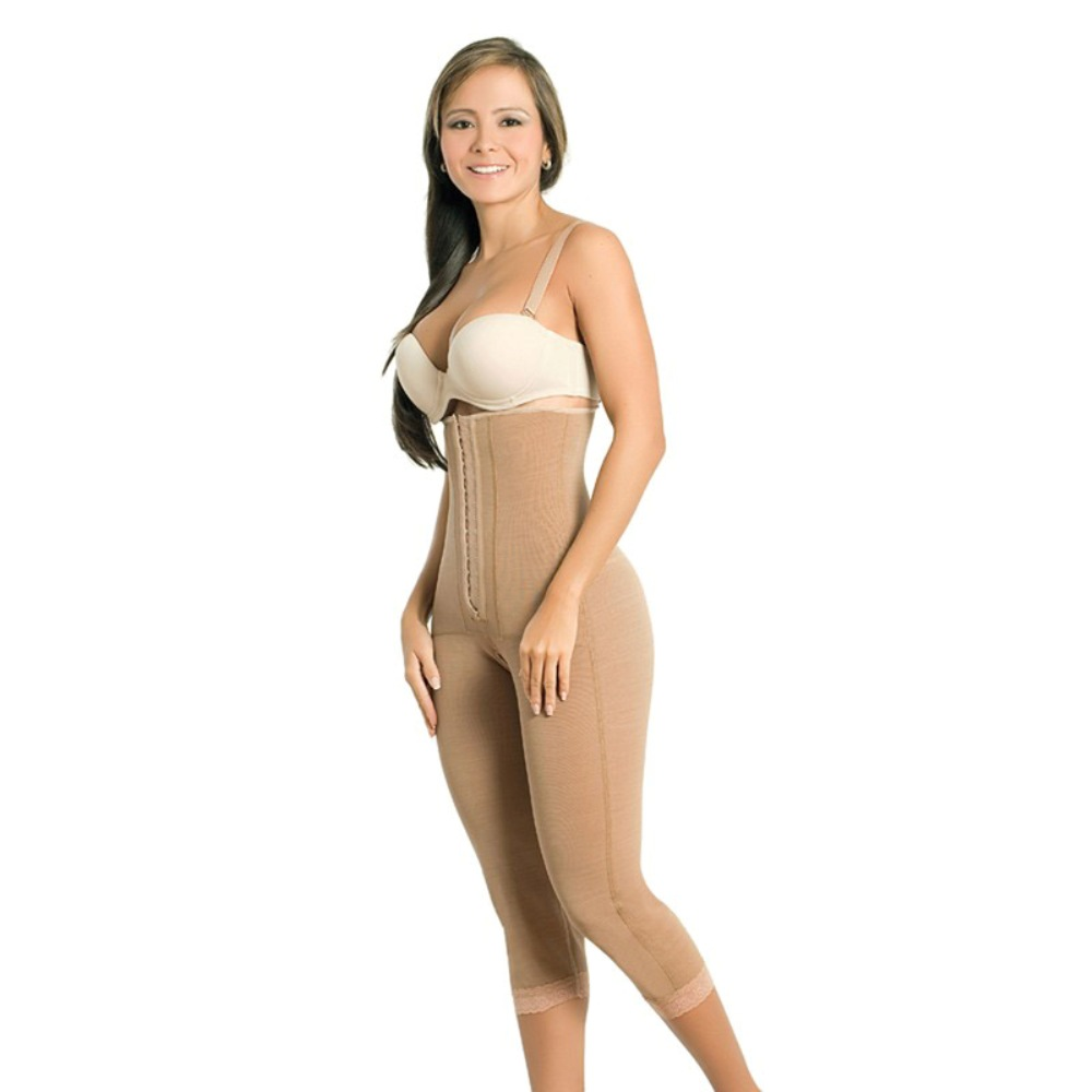 Mocha Lipo Slimming Strapless Body Shaper