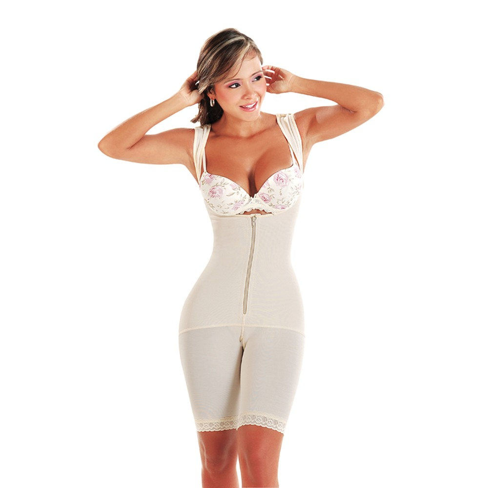 Jackeline Bust Enhancing Extra-Firm Body Shaper - Above the Knee
