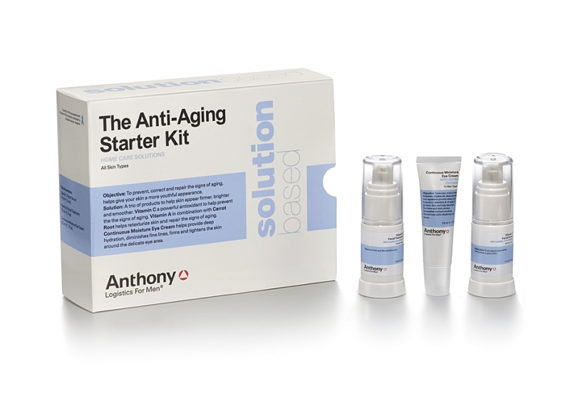 Anthony Logistics Men's Starter Anti-Aging Kit
