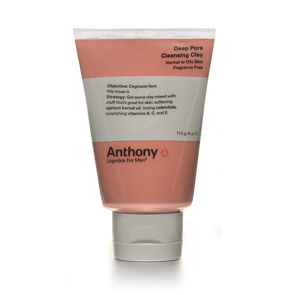 Anthony Logistics Men's Deep Pore Cleansing Clay