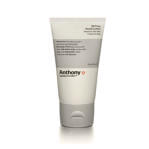 Anthony Logistics Men's Oil Free Facial Lotion