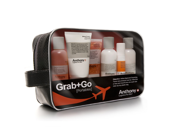 Anthony Logistics Men's Grab n Go TSA Approved Kit