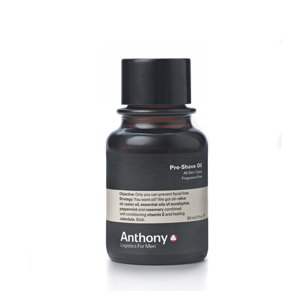 Anthony Logistics Men's Pre-Shave Oil