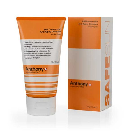 Anthony Logistics Men's Self-Tanner w/Anti-Aging Complex