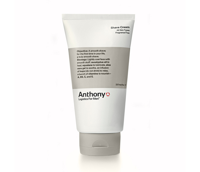 Anthony Logistics Men's Shave Cream