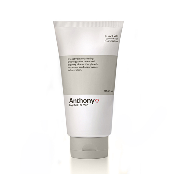 Anthony Logistics Men's Shave Gel