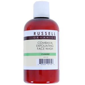 Russell Organics Natural Combava Exfoliating Face Wash