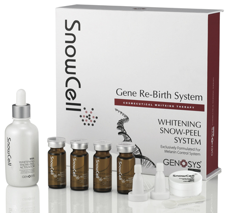 Genosys Snow Cell Professional Skin Lightening & Whitening Kit (Used with Microneedle Skin Rollers)