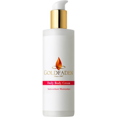 GoldFaden Daily Body Cream- Antioxidant Body Moisturizer